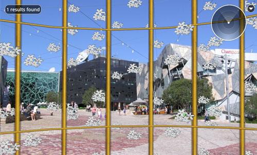 Jasmine Rain Birdcage At Federal Square Melbourne Australia